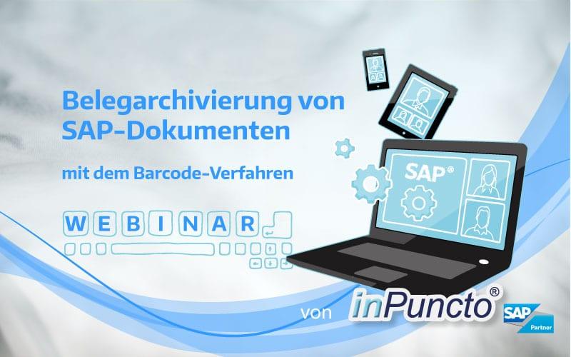 Webinar-Reihe zum Thema Belegarschivierung in SAP von inPuncto
