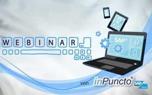 inPuncto kostenlose Webinare zur SAP-Add-on-Software für dokumentbasierte Geschäftsprozesse