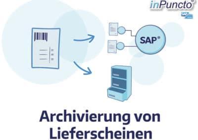 Automatische Archivierung von Lieferscheinen