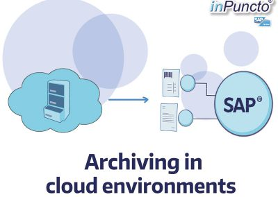 Archiving in cloud environments