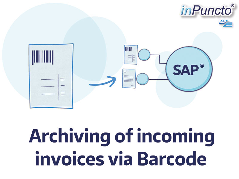 Incoming invoices: Procession via SAP Barcode Archiving