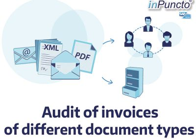 Audit of invoices of different document types