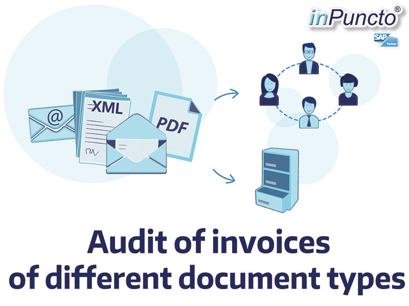 invoice auditing of different receipts