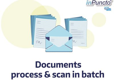 Scan and process documents in batch