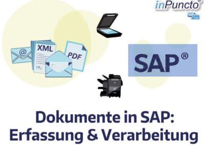 Dokumente in SAP: Automatische Erfassung & Verarbeitung