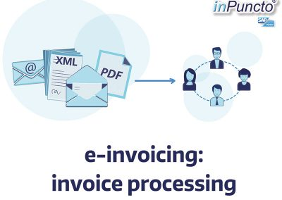 Electronic processing of invoices