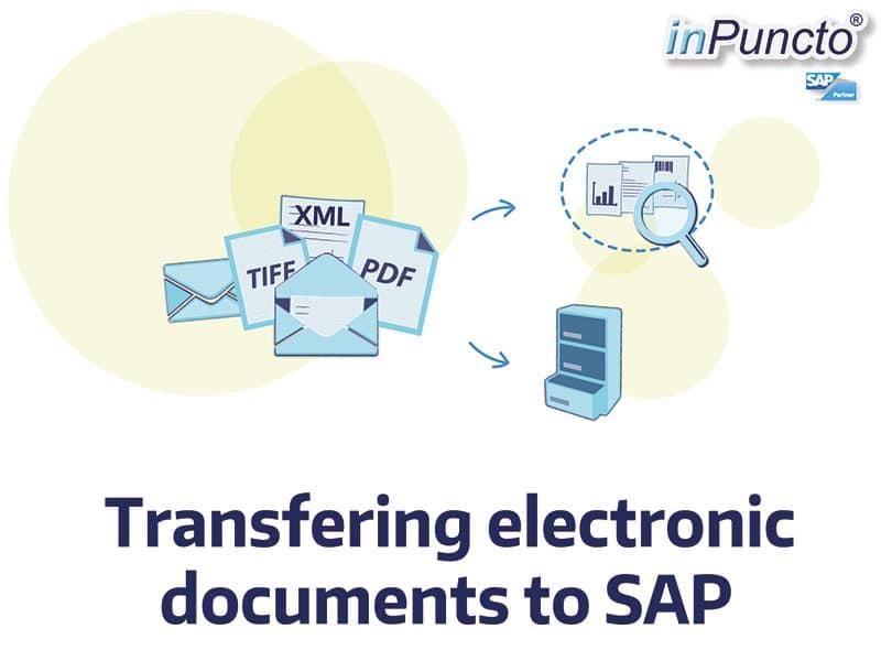 Documents in SAP: electronic transfer of pdf, tiff, edi
