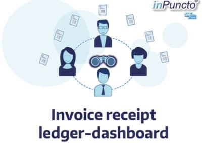 Invoice receipt ledger – Cockpit