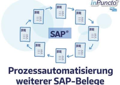 Automatisierung weiterer SAP-Belege