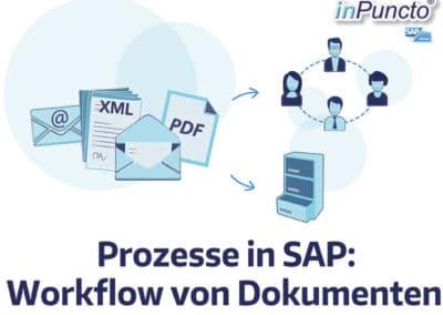 Prozesse in SAP: Workflow von dokumentenbasierten Prozessen