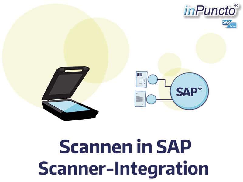 Scannen in SAP: direkt an Objekt
