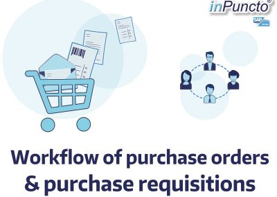 Release workflow of purchase orders