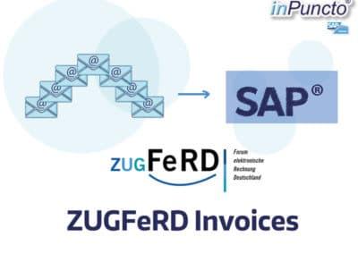 e-invoicing: ZUGFeRD invoices in SAP