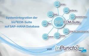 inPuncto Add-ons lauffähig auf SAP-HANA Datenbank