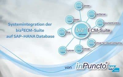 SAP-HANA: inPuncto Add-ons ab sofort lauffähig auf SAP-HANA Datenbank