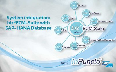 SAP-HANA: inPuncto add-ons now compatible with SAP-HANA database