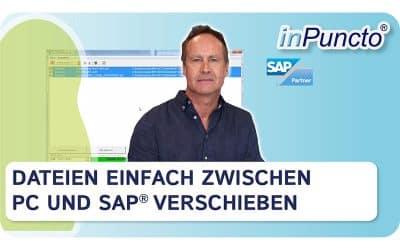 Drag&Drop Lösung für SAP