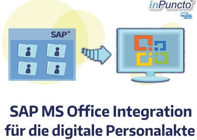 SAP MS Office-Integration für die digitale Personalakte