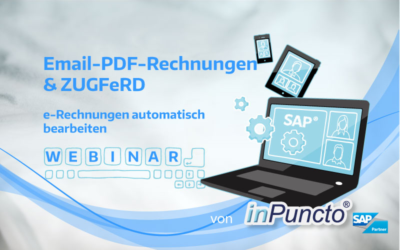 Email-PDF-Rechnungen & ZUGFeRD-kostenloses Webinar