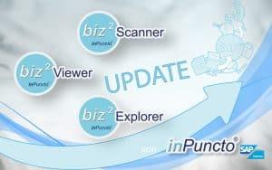 Darstellungsupdate für die inPuncto biz² Scanner, biz² Explorer & biz² Viewer