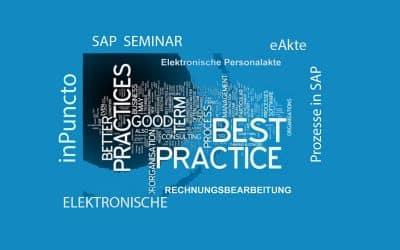 Die Seminare zu SAP-Best-Practice-Lösungen von inPuncto wurden sehr gut aufgenommen