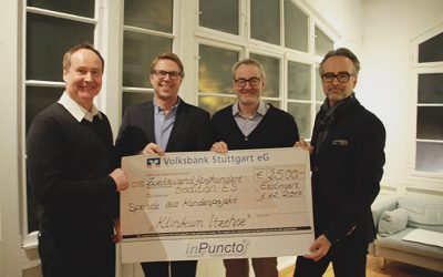inPuncto donates to the entrepreneur network 'tradition-ES'