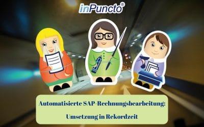 Umsetzung in Rekordzeit: Automatisierte SAP-Rechnungsbearbeitung bei einem Schweizer Stahlhändler