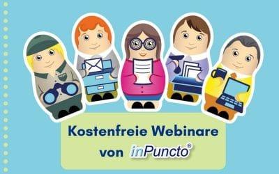 Kostenlose Webinare: Rechnungsworkflow in SAP, Dokumenterstellung, revisionssichere Archivierung und digitale Personalakte