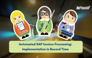 Automatic SAP invoice processing at a Swiss steel dealer