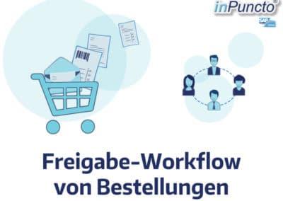 Freigabe-Workflow von Bestellungen