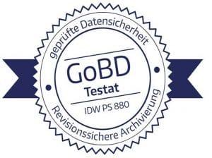 GoBD Testat - revisionssichere Archivierung