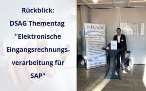 """DSAG Thementag """"elektronische Eingangsrechnungsverarbeitung für SAP"""": ein voller Erfolg"""