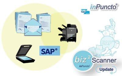 inPuncto Scan-Client für SAP erhielt ein Update