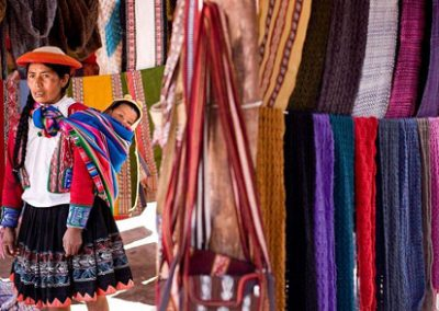 Berufsstarterunterstützung für Mütter in Peru