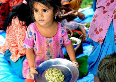 Katastrophenhilfe für betroffene Kinder