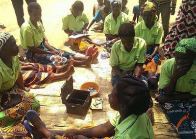 Spargruppen für Trinkwasser in Ghana