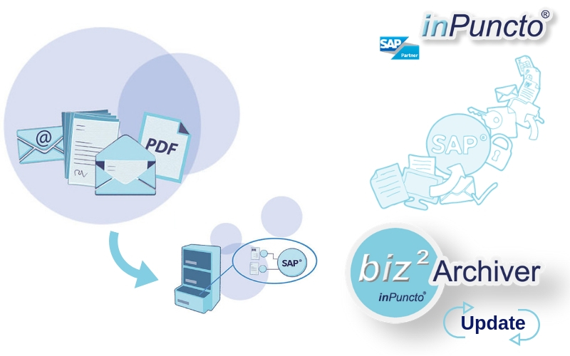 Update of the inPuncto archiving software for SAP