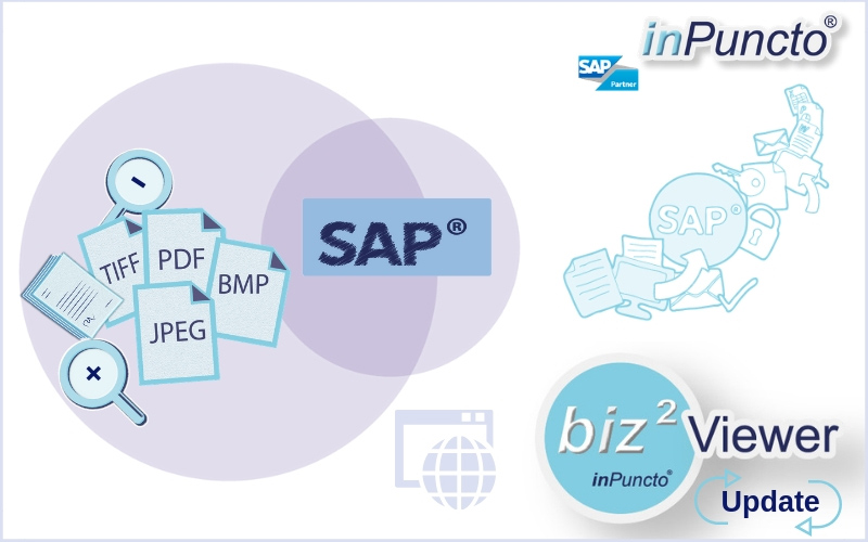The new version of the inPuncto Document Viewer for SAP is now available