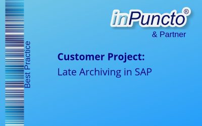 "Intro­duc­tion of the solution ""Late Archiv­ing in SAP with the Bar­code Proce­dure"" for an energy service provider"