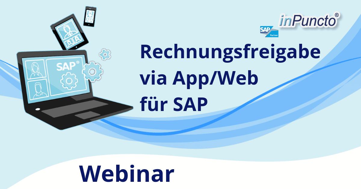 """Kostenfreie Web-Seminar-Reihe zum Thema """"Automatisierte Rechnungsverarbeitung in SAP"""""""