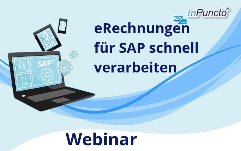 Kostenloses Webinar: eRechnung als SAP-integrierte Lösung