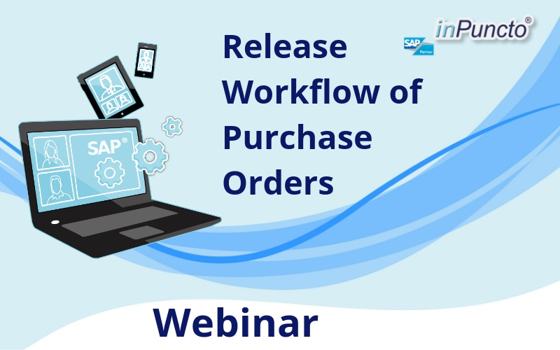 "Free Webinar ""Release Workflow of Purchase Orders"" by inPuncto"