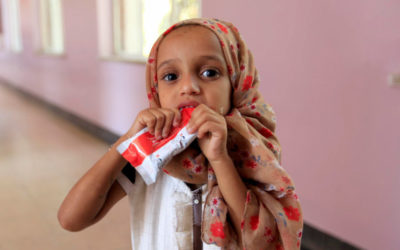 inPuncto supports UNICEF with a donation for needy children in Yemen