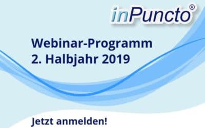 Kostenlose Webinare zu Dokumentenmanagement & Prozessoptimierung in SAP: Herbst/Winter 2019